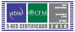 Selo de Certificação SBIS / CFM - NGS2